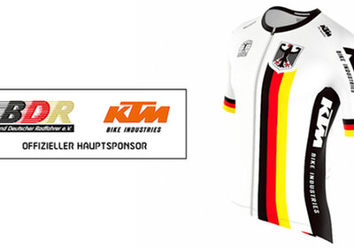 KTM é o novo patrocinador da Federação Alemã de Ciclismo