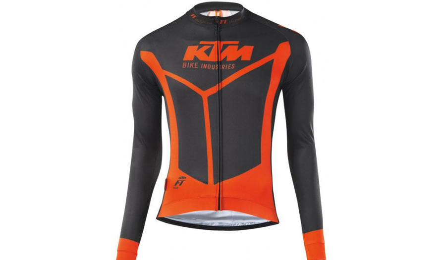 CAMISOLA FACTORY TEAM RACE M/COMP SPRING
