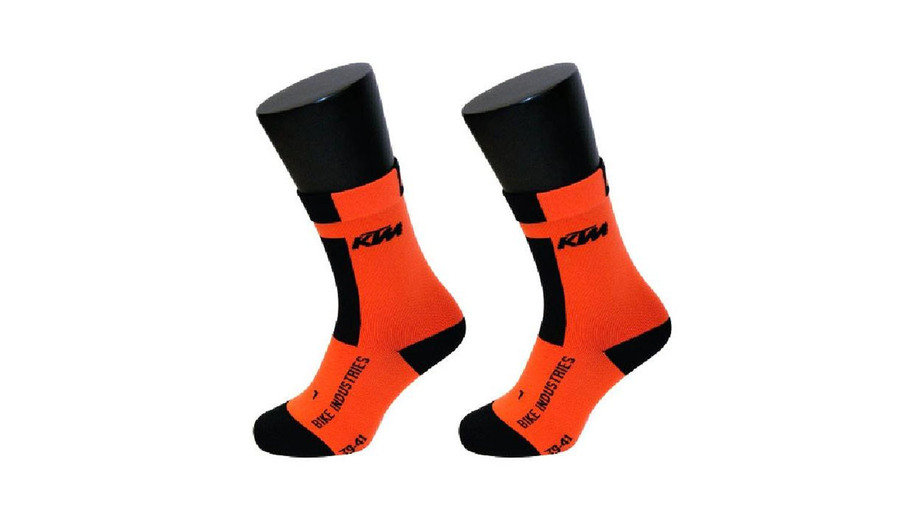 MEIAS KTM COMPRESSION BD LARANJA CURTAS 6586(XL)
