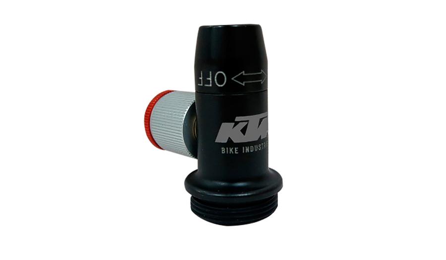 BOMBA KTM CARTUCHO INFLATOR CO2 RATCHET
